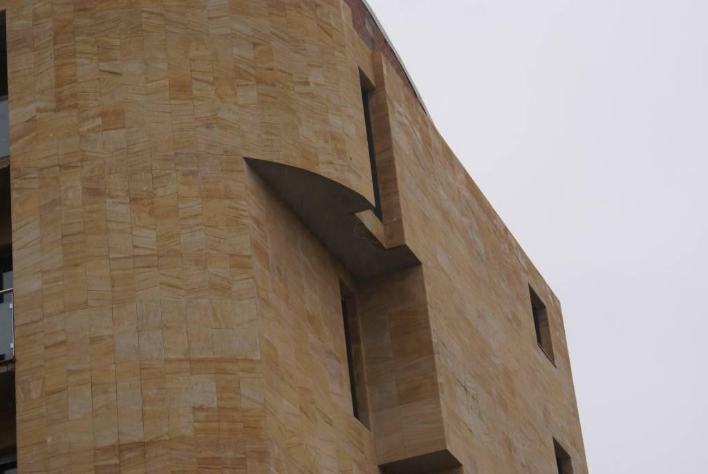 Minardoises parement de mur teka - Mur en ardoise ...