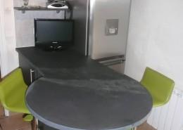 Minardoises ardoise fa onn e for Plateau pour table de cuisine