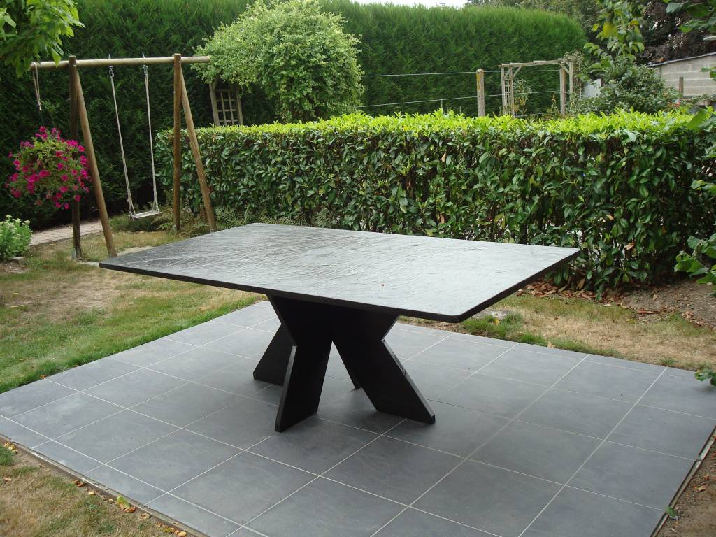 Minardoises | Table en ardoise