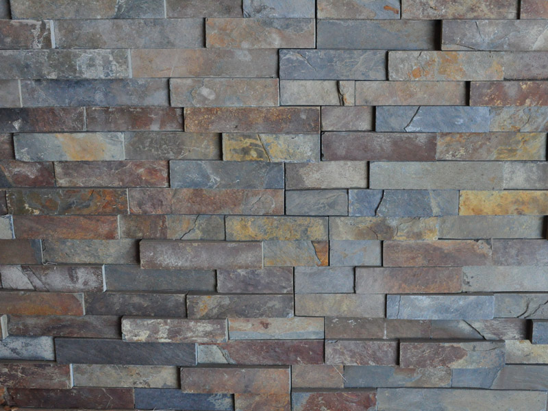 Minardoises parement de mur stone work - Mur en pierre decorative interieure ...